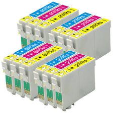 12 CMY Cartouche d'encre pour Epson Stylus D712 DX5000 DX8400 SX115 SX405 DX4450