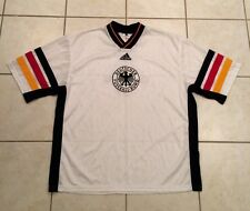 Men's Adidas Germany Football Soccer Jersey World Stripe Deutscher Fussball Vtg