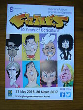 FIZZERS : 10 YEARS OF CARICATURE 2016 Exhibition Flyer
