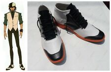 Tiger And Bunny Kotetsu T. Kaburagi Cosplay Costume Boots Boot Shoes Shoe