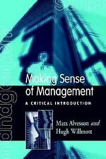 Making Sense of Management: A Critical Introduction-ExLibrary