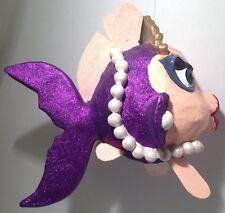 RARE Huge! Katherine's Collection Retired 2000 Kissing Fish Christmas Display Pl