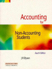 Accounting for Non-Accounting Students by J.R. Dyson (Paperback, 1996)