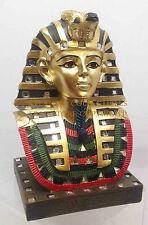 Ancient Egyptian Legendary King Tutankhamun Pharaoh Tut Figurine Bust Statue