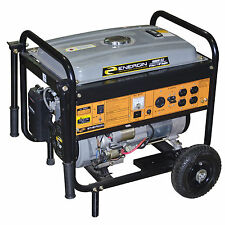 Energin 4000W Peak Gas Generator Electric Start, with Wheel Kit (no battery)