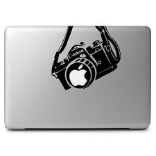 Canon Camera Apple for Macbook Air Pro Mac Laptop Car Truck Window Decal Sticker