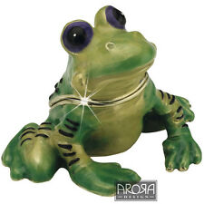 Little Paws Trinket Box Frog - Freddie - Craycombe Trinkets - 3901lptfro