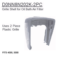 D0NN8N202K-2PC Ford Tractor Parts Grille Shell for Oil Bath Air Filter 4000, 500