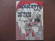 POUCETTE TROTTIN HOTESSE DE L'AIR (1955)