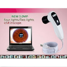 5.0 MP 4 LED/2 LED USB Eye Iriscope Iridology Camera + PRO Software