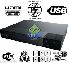 NEW Sony BDP-S3700 WIFI - 2D Multi Zone All Region Code Free DVD Blu-Ray Player