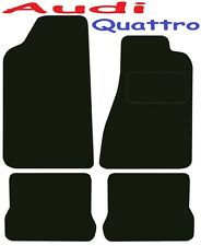 Audi Quattro 10v Tailored Deluxe Quality Car Mats 1980-1989 Coupe