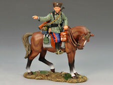 King & Country - World War II German Mounted Cossack Pointing WS148 WWII