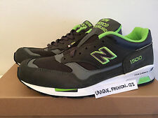 NEW BALANCE 1500 GG US 10.5 UK 10 44.5 MADE IN THE ENGLAND GREY GREEN M1500GG