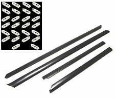 NEW AUDI A4 A-4 1995-2001 doors trims protective rubber set 4 pieces + 26 clips