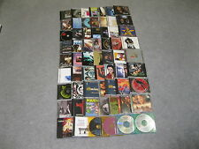 HUGE 62 MUSIC CDS MIXED LOT SEE MY 12 PICS FOR CD TITLES VG USED CONDITION!