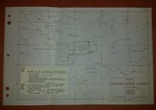 1942 US Army Map Syria and Lebanon  GSGS 4244
