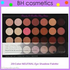 NEW BH Cosmetics 28-Color NEUTRAL EYES Eye Shadow Palette FREE SHIPPING Warm NIB
