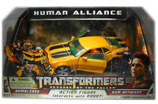 New in Box Transformers ROTF Human Alliance Bumblebee Action Figure & Sam