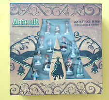 FEVES COFFRET COLLECTOR ARTHUR   SERIE COMPLETE + 2 HORS SERIE