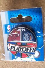 2014 NBA Playoffs pin Miami Heat vs Charlotte Bobcats