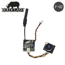 Boldclash F-02 AIO 5.8GHz 48CH 25mW 4.6g Camera TX for Tiny Whoop FPV Inductrix