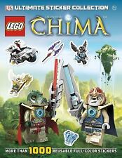 NEW LEGO Legends of Chima Ultimate Stickers Collection DK Publishing book 1000+