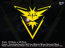 TEAM INSTINCT Reflective Funny Sticker Pokemon Go Car Ute 4x4 Decal Best gift-