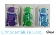 SET X 6  ORTHO CARE KIT  / ORTHODONTIC KIT ORAL CARE CLEANING
