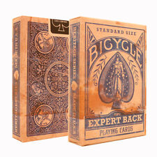 Blue Expert Back Bicycle Playing Cards - Distressed Vintage Look Deck - USPCC