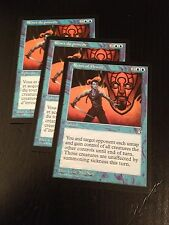MTG MAGIC STRONGHOLD REINS OF POWER FRENCH (RENES DU POUVOIR) NM X3 (1VO/2VF)
