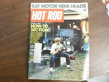 Hot Rod Magazine March 1973 16-Page How-To Section Hemi Heads EX 122615jhe