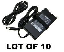 LOT OF 10 Genuine Original OEM DELL 90W Slim AC Adapter WK890 DA90PE1-00 PA