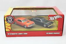 2007 HOT WHEELS 40TH ANNIVERSARY 1970 PLYMOUTH HEMI CUDA 1969 DODGE CHARGER
