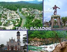 Ecuador - TENA - Travel Souvenir Fridge MAGNET