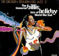 "BILLIE HOLIDAY - The Immortal JAZZ (Vinile e Cover=M) LP 12"" LAMINATED Import"