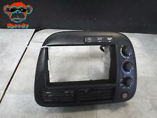 99 00 HONDA CIVIC AC A/C HEATER CLIMATE TEMP TEMPERATURE CONTROL PANEL BEZEL