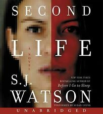 Second Life by S. J. Watson (2015, CD, Unabridged)