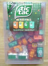 TIC TAC LARGE BOX WITH 60 MINI PACKS 60 X 3,9g SPEARMINT MINT ORANGE PEACH