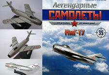 Soviet Russian MiG 17 high-subsonic fighter aircraft  + magazine !
