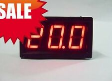 Mini RED LED Volt Meter DC 7-20V Doesn't Require Power