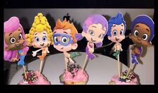 12 Cupcake Toppers - Bubble Guppies  Party