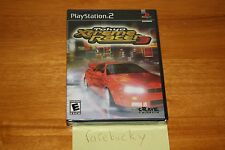 Tokyo Xtreme Racer 3 (PS2 Playstation 2) NEW SEALED Y-FOLD W/UPC, MINT, RARE!