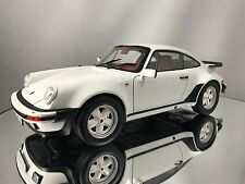 Norev Porsche 911 (930) Turbo 3.3 1977 White Diecast Model Car 1/18