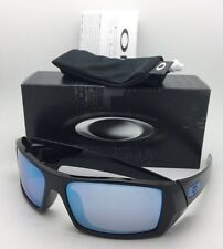 Polarized OAKLEY Sunglasses GASCAN OO9014-15 60-15 Black Frame w/ PRIZM Deep H2O