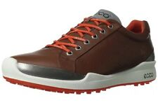 Ecco Mens Golf Shoes BIOM Hybrid Mahogany Fire Brown New  US 13/13.5 EU 47 Yak