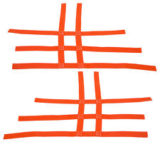 Raptor 125 250 350 660    Nerf Bar Nets   Fits Alba Racing Tusk Sixity Orange A