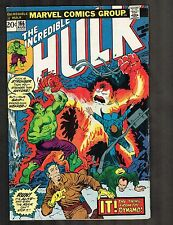 Incredible Hulk #166 ~~ Destroyer from the Dynamo ~ 1973 (6.0) WH