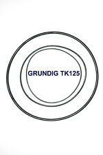 SET BELTS GRUNDIG TK125 REEL TO REEL EXTRA STRONG NEW FACTORY FRESH TK 125