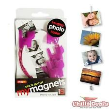 New My magnet Photo holder wire with Magnets Gift set Purple cats